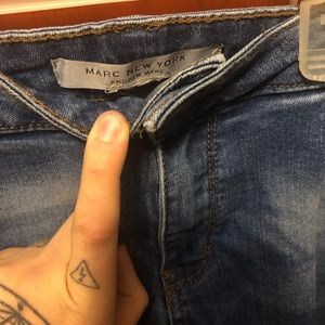 Jeans - Marc New York Andrew Marc Blue Jeans